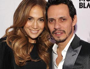 Jennifer Lopez, Marc Anthony together