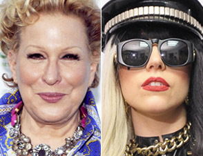 Bette Midler, Lady Gaga