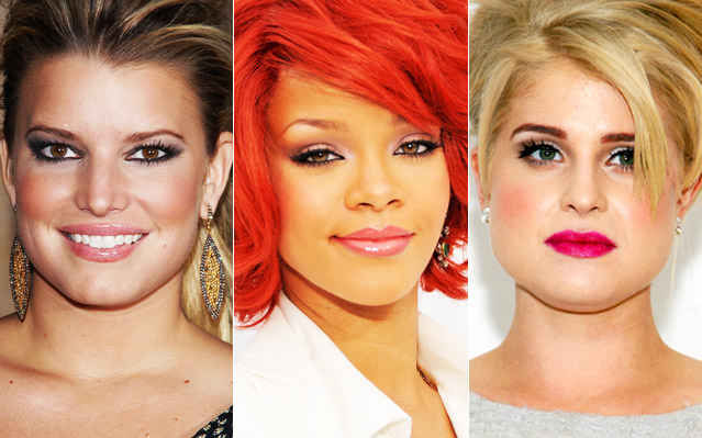 Jessica Simpson, Rihanna, Kelly Osbourne