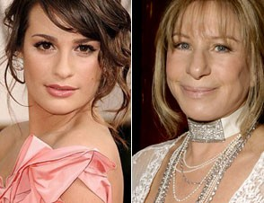 Michelle Lea and Barbara Streisand