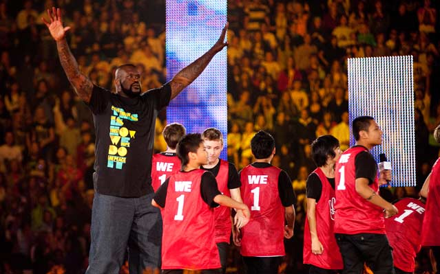 We Day Shaquille O'Neal