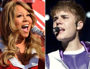 Mariah Carey, Justin Bieber