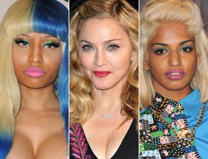 Nickai Minaj, Madonna, M.I.A.
