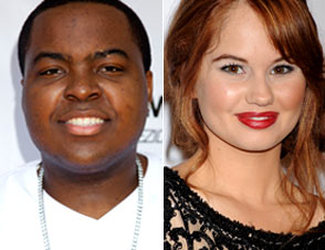 Sean Kingston and Debby Ryan