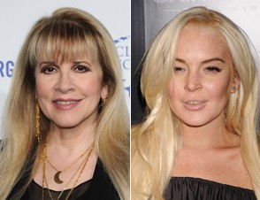 Stevie Nicks, Lindsay Lohan