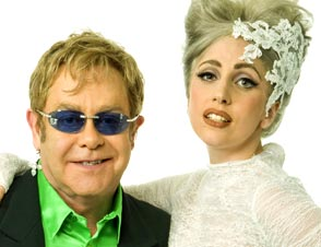 lady gaga godmother elton john