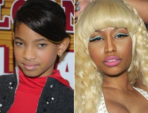 Willow Smith Nicki Minaj Fireball
