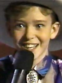 Justin Timberlake before he was famous
