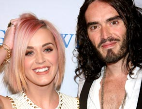 Katy Perry Russell Brand moving vans