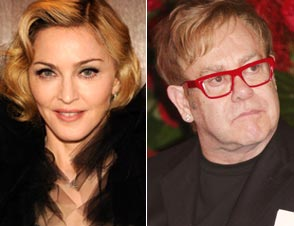 Madonna, Elton John Super Bowl