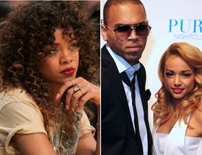 Rihanna, Chris Brown, Tran