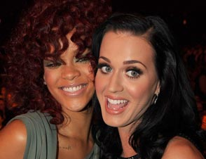 Rihanna, Katy Perry
