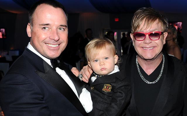 Elton John baby Zachary