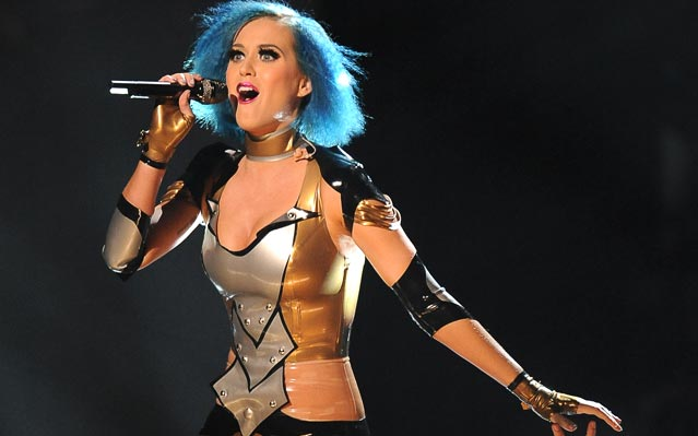 Katy Perry Grammys 2012