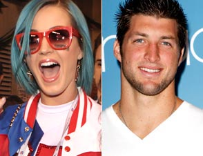 Katy Perry Tim Tebow Super Bowl