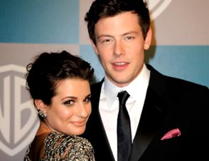Lea Michele, Cory Monteith dating