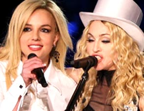 Madonna Britney Spears kiss