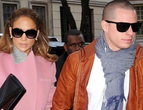 Jennifer Lopez Tour Casper Smart