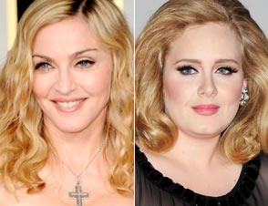 Madonna Adele fat