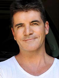 Simon Cowell house intruder brick
