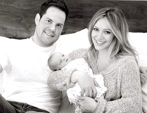 Hilary Duff baby weight