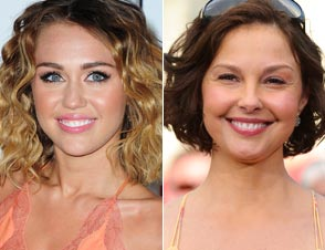 Miley Cyrus Ashley Judd Puffy-Face Criticisms