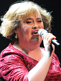 Susan Boyle Fan Break-in