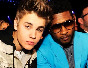 Usher Justin Bieber relationships