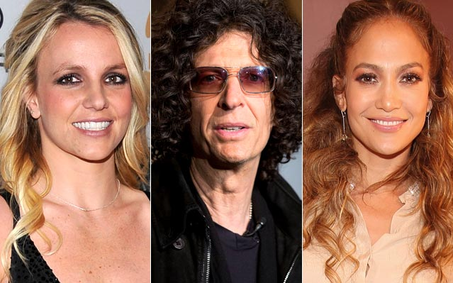 Howard Stern Britney Spears jennifer lopez