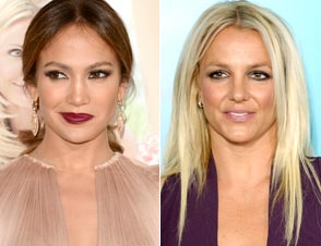 Jennifer Lopez Britney Spears X Factor