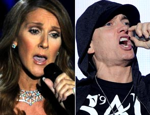Celine Dion Eminem Collaboration