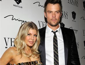Fergie Workout Josh Duhamel