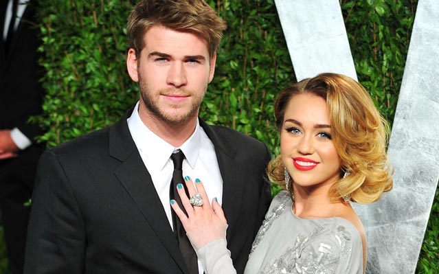 Miley Cyrus Engaged Liam Hemsworth