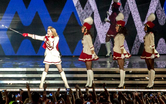 Madonna MDNA Tour Photos