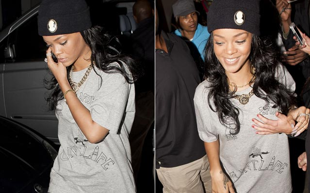 Rihanna c-word t-shirt