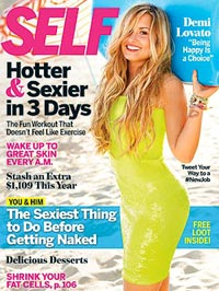 Demi Lovato Self magazine cover