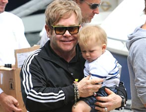 Elton john full time dad