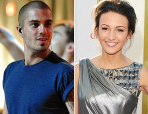 Max George Michelle Keegan Split