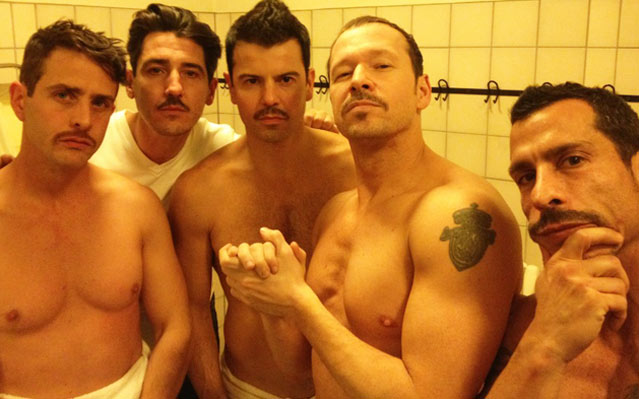 New Kids on the Block Shirtless