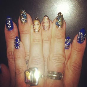 Beyonce manicure