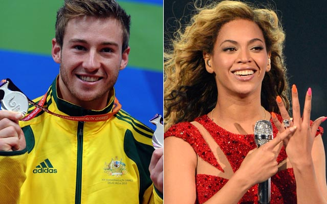 Olympic diver Matthew Mitcham Beyonce Single Ladies