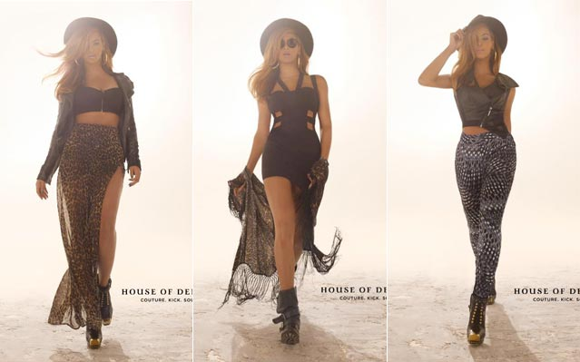 Beyonce House of Dereon Fall 2012 Photos