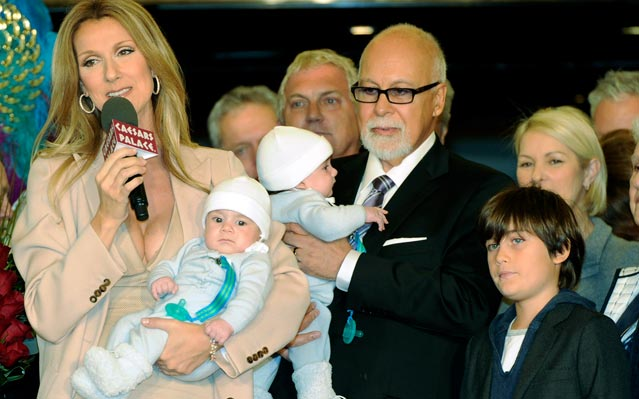Celine Dion family kids