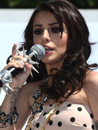 Cher Lloyd V Festival Performance