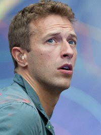 Chris Martin Flubs Warning Sign Lyrics fuck the olympics