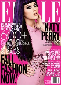 Katy Perry Elle September 2012