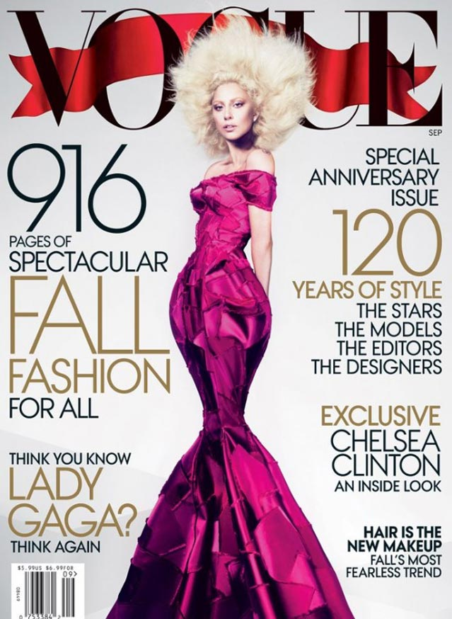 Lady gaga vogue cover is a photoshop fail behind the scenes video