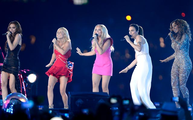 Olympics Closing Ceremony Spice Girls