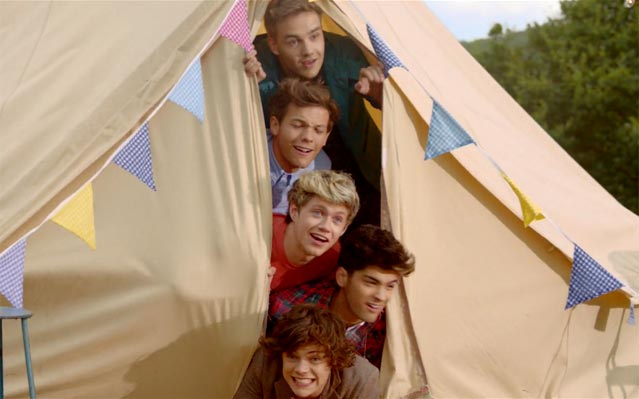 One direction, 'live while we're young' video gets an early release