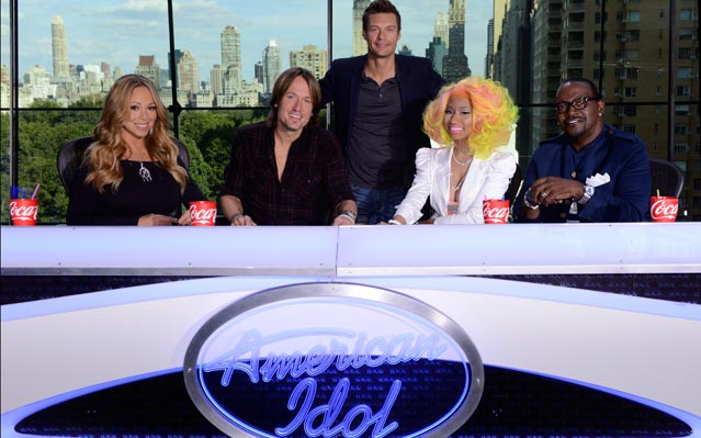 Ryan Seacrest Mariah Carey Nicki Minaj Fight